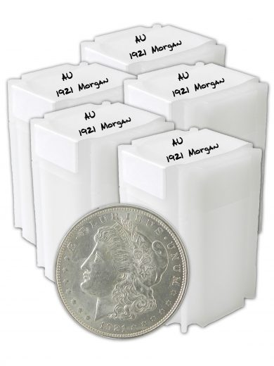1921 Silver Morgan Dollar AU Lot of 100