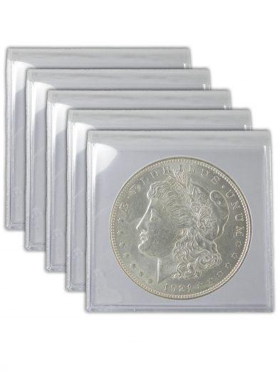 1921 Silver Morgan Dollar Lot of 5