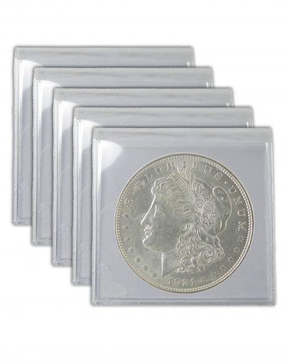 1921 Silver Morgan Dollar Lot of 5