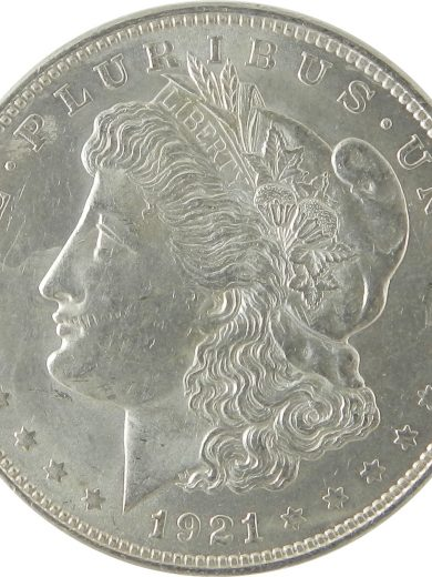1921 SIlver Morgan Dollar AU Lot of 1 Coin