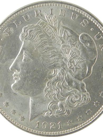 1921 SIlver Morgan Dollar AU Lot of 1 Coin