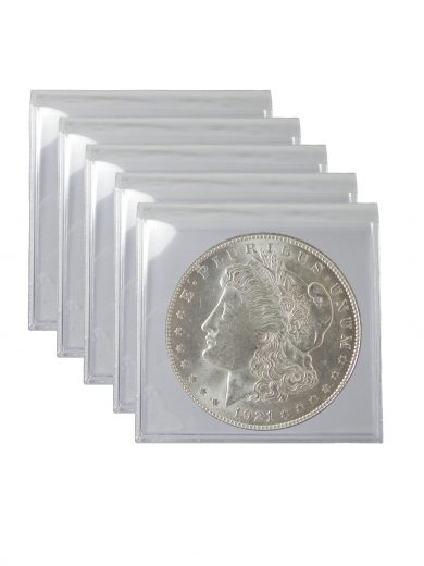 1921 Silver Morgan Dollar BU Lot of 5