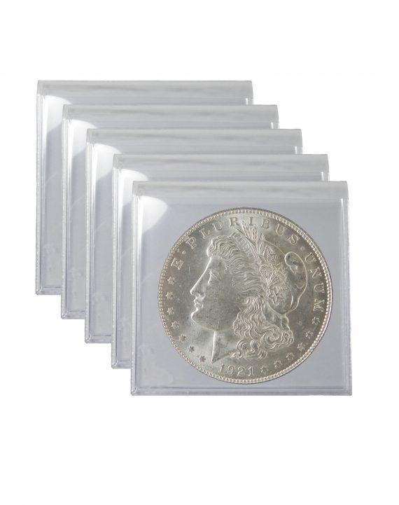 1921 Silver Morgan Dollar BU Lot of 5