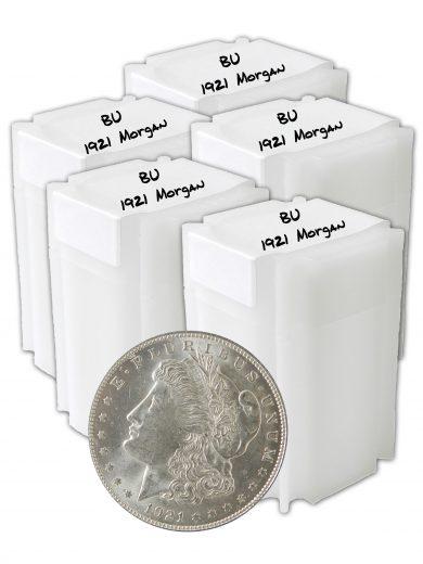 1921 Silver Morgan Dollar BU lot of 100
