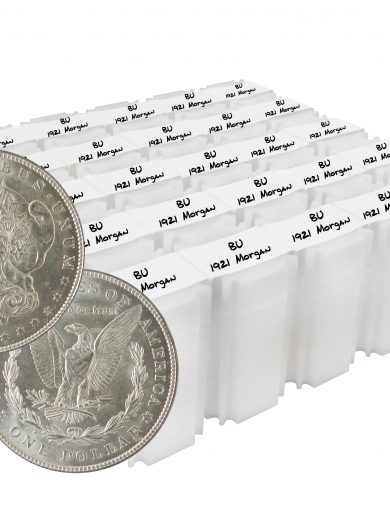 1921 Silver Morgan Dollar BU Lot of 500