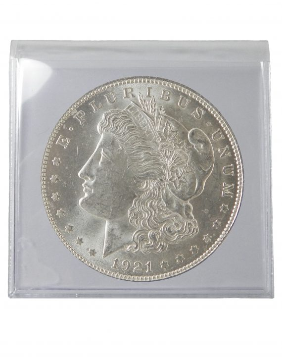 1921 Silver Morgan Dollar BU Lot of 1