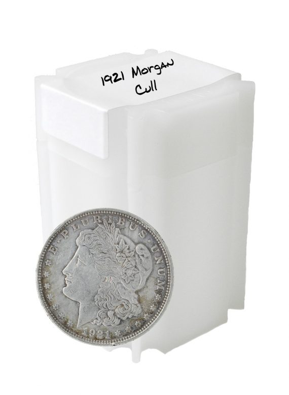 1921 Silver Morgan Dollar Cull Lot of 20