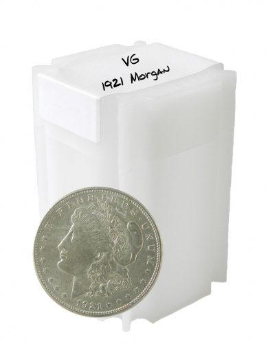 1921 circ silver morgan dollars 20 in tube