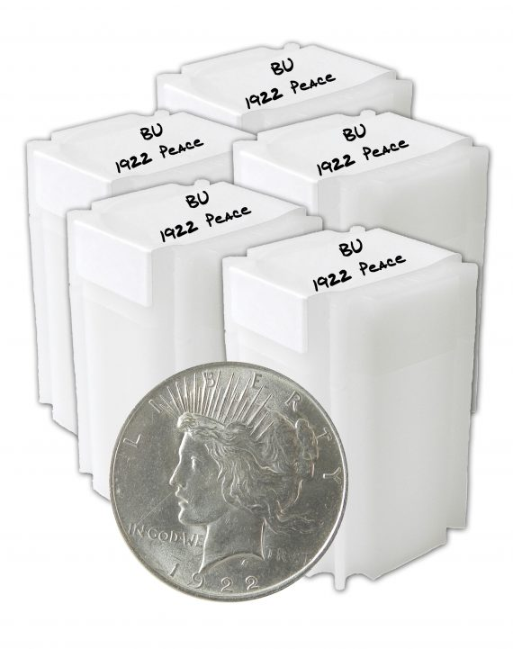 1922 Silver Peace Dollar BU Lot of 100 Coins