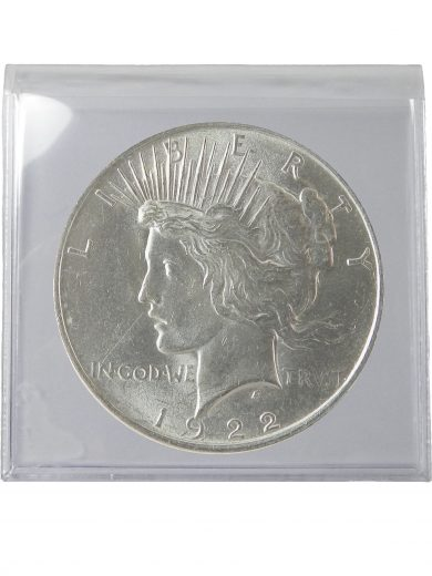 1922 Silver Peace Dollar BU Lot of 1 Coin