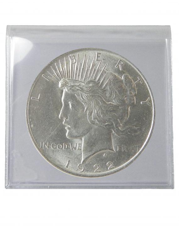 1922 Silver Peace Dollar BU Lot of 1 Coin