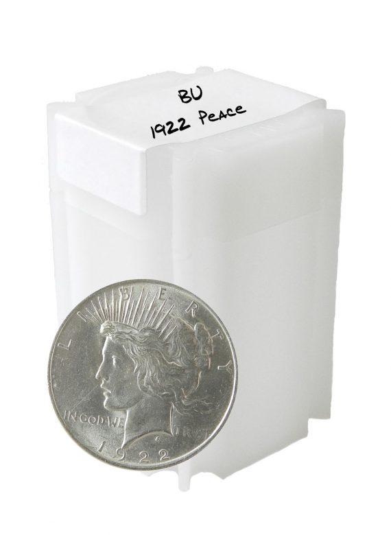 1922 Peace Dollar BU Lot of 20 Coins