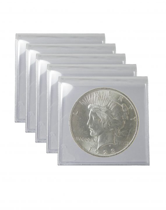 1923 Silver Peace Dollar BU lot of 5 Coins