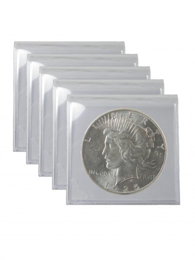 1925 Silver Peace Dollar BU Lot of 5