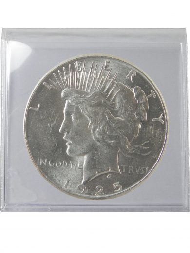 1925 Silver Peace Dollar Lot of 1 Coin