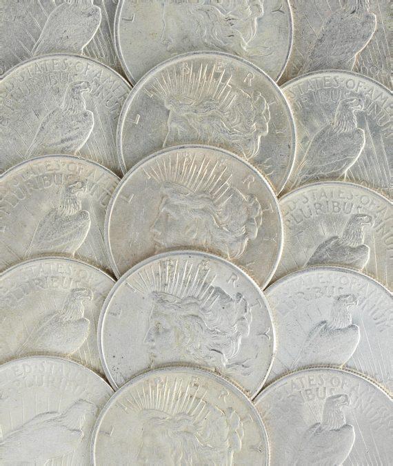 Circ peace Dollars
