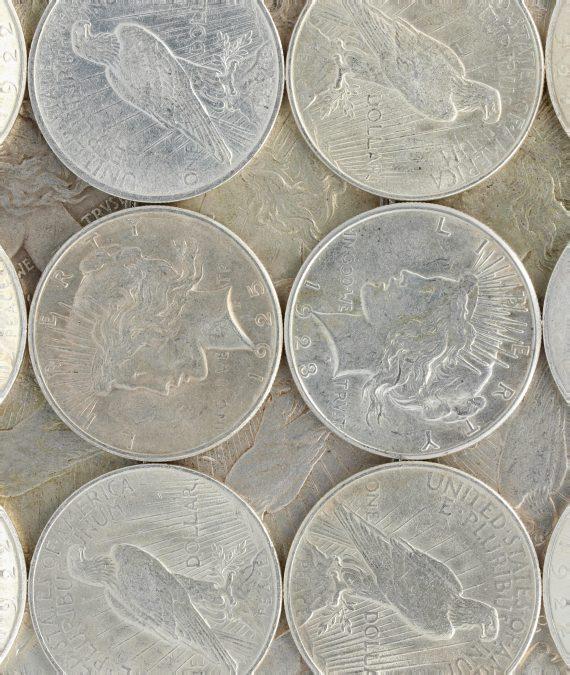 Silver Peace Dollar VG+
