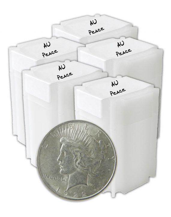 Peace Dollar AU Lot of 100 Coins