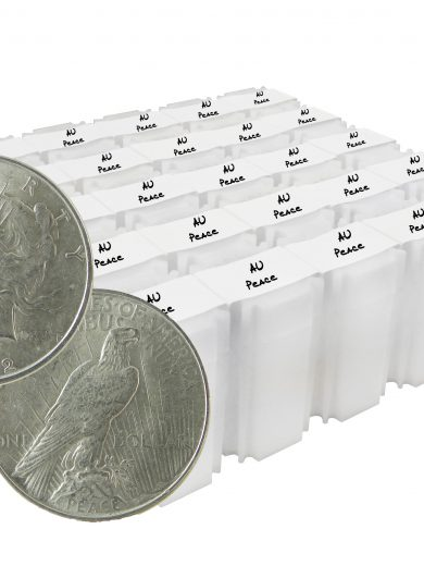 Silver Peace Dollar AU Lot of 500