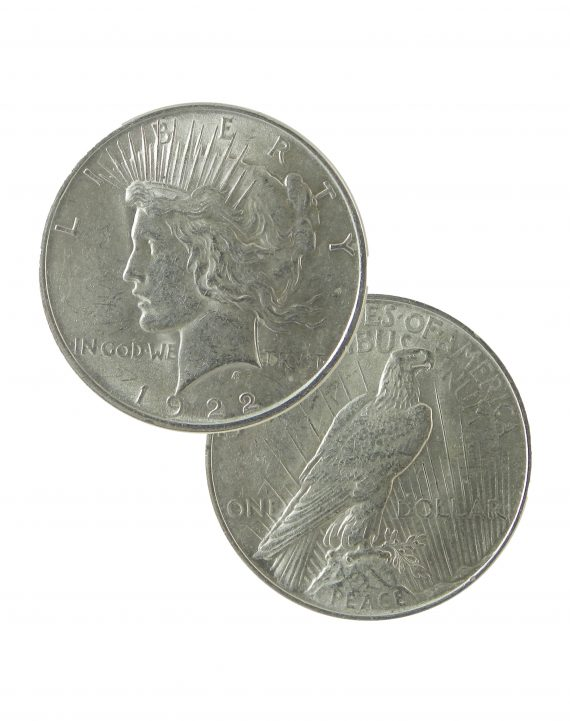 peace dollar au dual