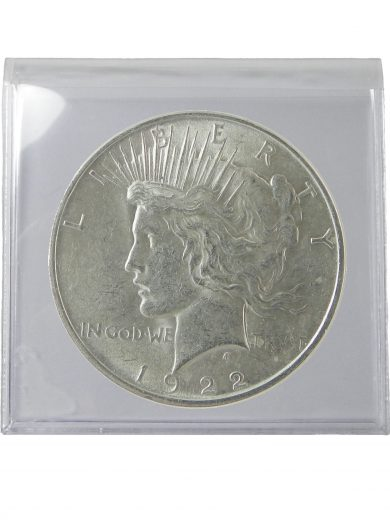 Silver Peace Dollar AU Lot of 1 Coin