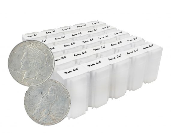 Silver Peace Dollar Cull lot of 500