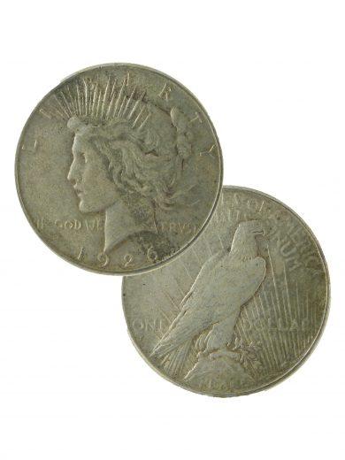 silver peace dollar dual