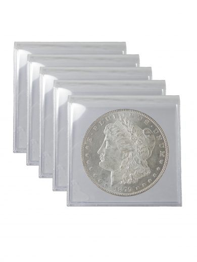 Pre 1921 Silver Morgan Dollar AU Lot of 5 Coins