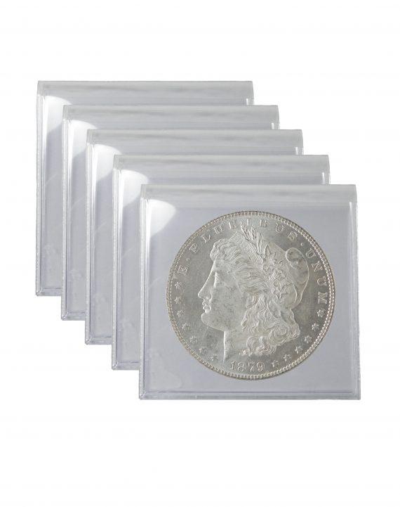 Pre 1921 Silver Morgan Dollar AU Lot of 5 Coins