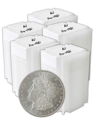 Pre 1921 Morgan AU Dollar lot of 100 Coins