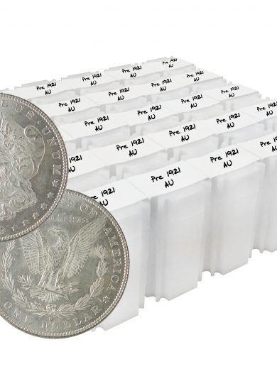 Pre 1921 Silver Morgan Dollar AU Lot of 500 Coins