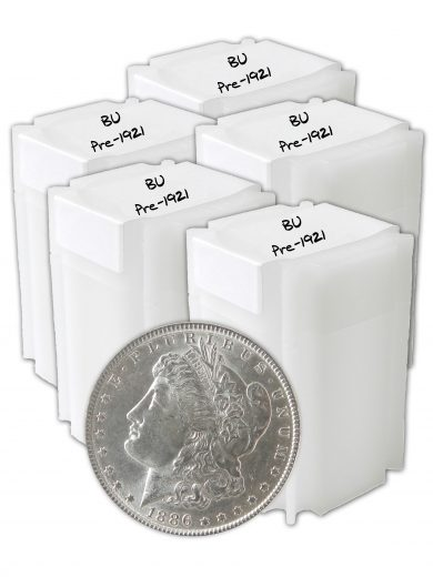 Pre 1921 Morgan Dollar BU Lot of 100 Silver Coins