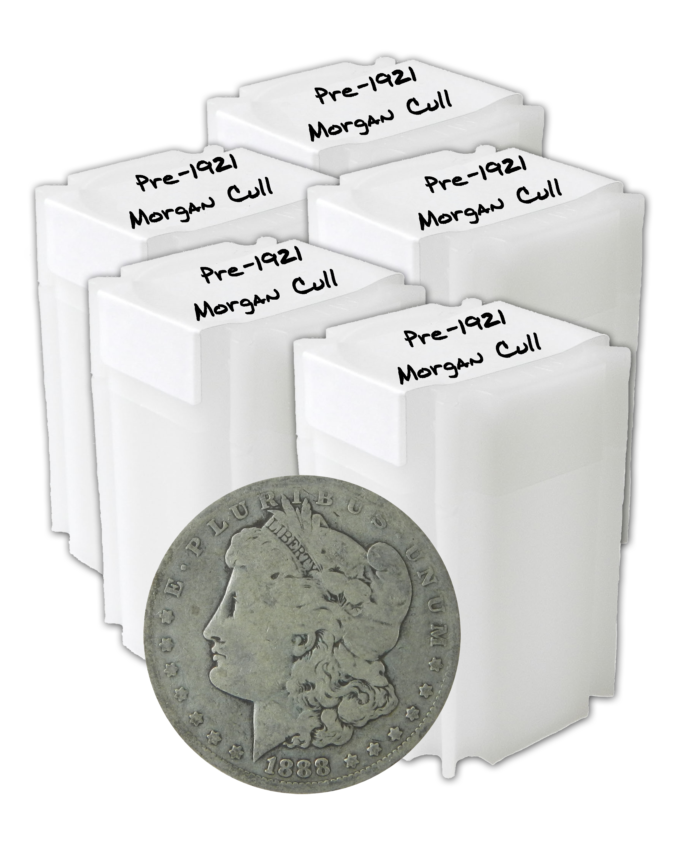 1878-1904 Morgan Silver Dollars XF-AU Pre-1921 Mix Dates 1 Roll Lot of 20 Coins