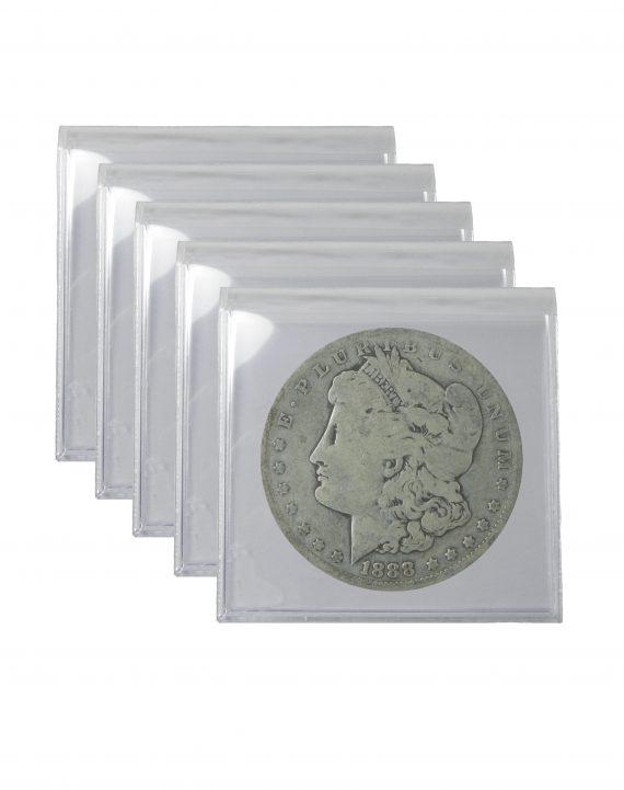 Pre 1921 Silver Morgan Dollar Cull Lot of 5 Coins