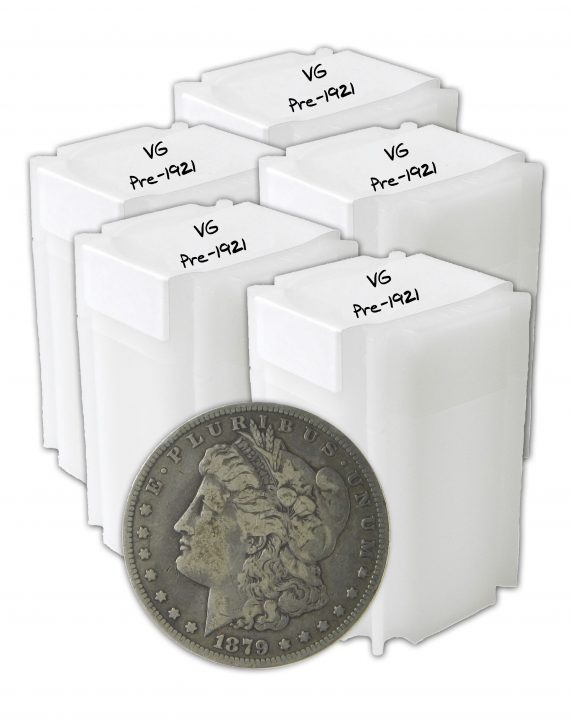 Pre 1921 Silver Morgan Dollar VG+ Lot of 100 Coins