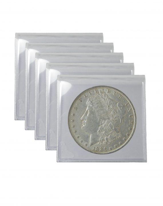 Pre 1921 Morgan Dollar XF Lot of 5 Coins