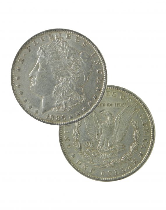 Pre 1921 Morgan Dollar XF Lot of two sides