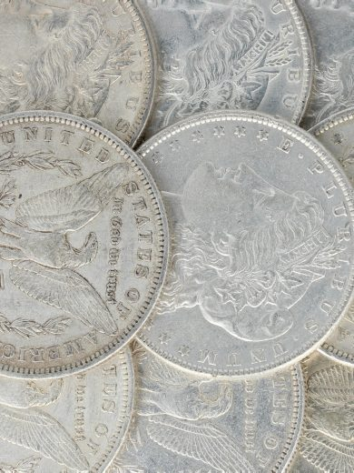 Pre 1921 Morgan Dollar XF lot 2