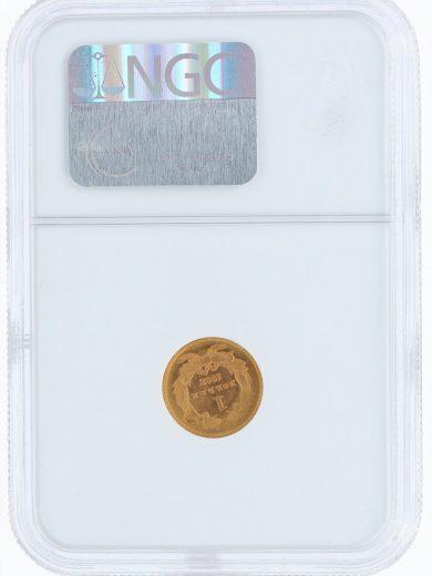 1868 NGC MS67 G$1 rev