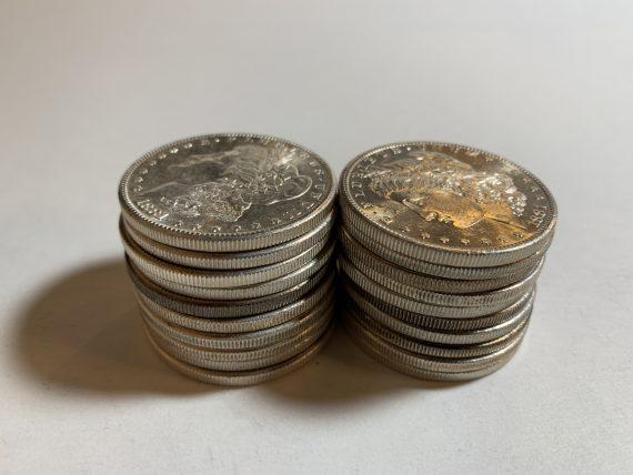 1881-S Morgan Dollar BU Roll of 20 Silver Coins