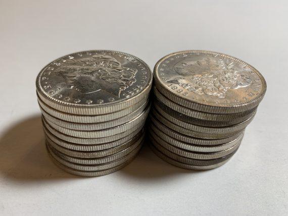 1885-O Morgan Dollar BU Roll