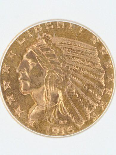 1916-S-ICG-MS61-5/01301/obv-zm