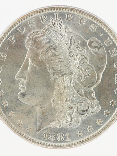 1881-S Morgan Dollar ICG MS67+ S$1 obv zm