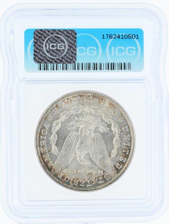 1882-S morgan dollar ICG MS68 S$1 10501 rev
