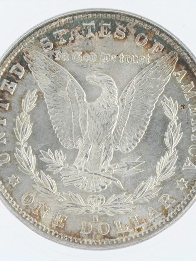 1882-S morgan dollar ICG MS68 S$1 10501 rev-zm