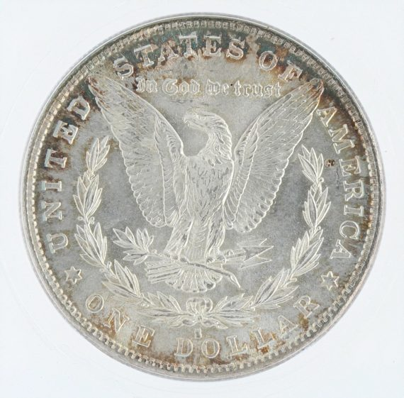 1882-S morgan dollar ICG MS68 S$1 10501 rev-zm