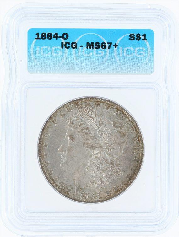 1884-O ICG MS64p S$1 Silver Dollar 70201