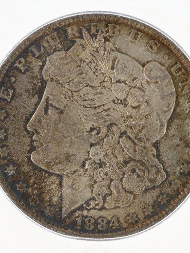 1884-O Morgan ICG MS67+ S$1 Silver Dollar obv zm