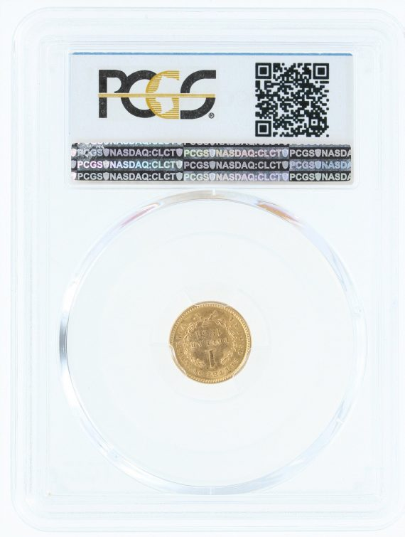 1851-gold-dollar-pcgs-ms62-g-1/99583/rev