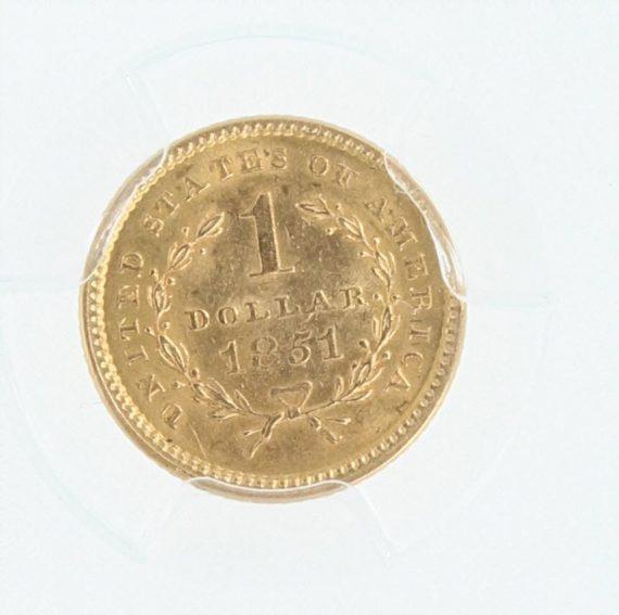 1851-gold-dollar-pcgs-ms62-g-1/99583/rev-zm